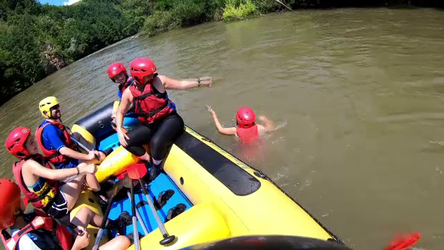 Râurile din România care atrag turiştii străini. \