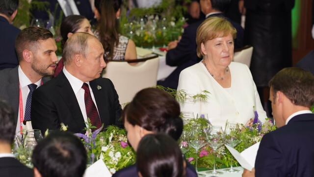 Summitul G20. Putin și-a adus cana termică de acasă, la dineul liderilor mondiali. VIDEO - Imaginea 4