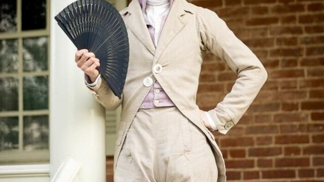 """Cum arată tânărul care a decis să poarte numai haine de epocă. """"Nu mă pot îmbrăca altfel"""" - Imaginea 8"""