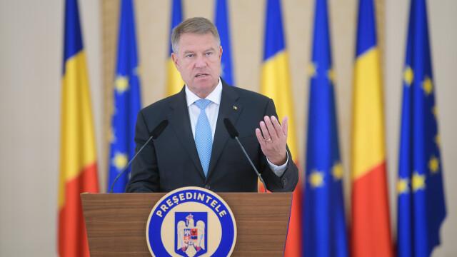 Klaus Iohannis la Cotroceni