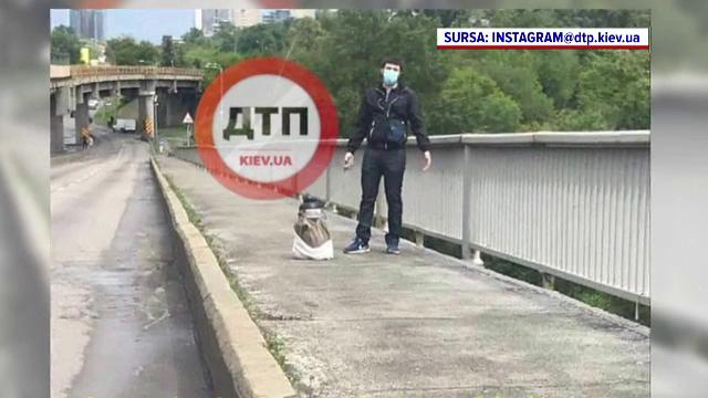 Un bărbat a amenințat că aruncă în aer un pod. Ce avea, de fapt, într-un colet