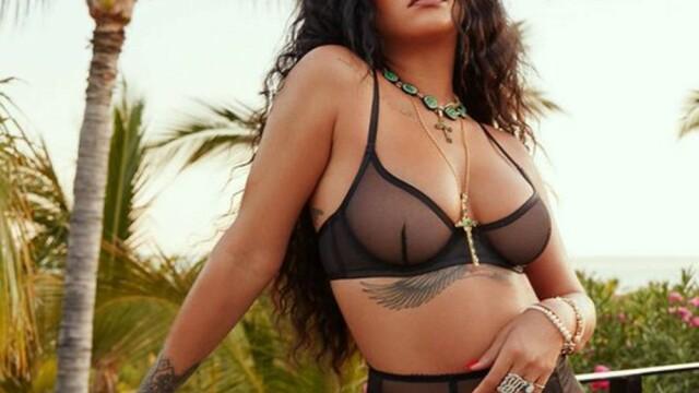GALERIE FOTO. Rihanna și-a lansat propria linie de lenjerie intimă - Imaginea 3