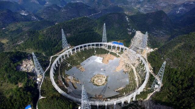 Cel mai mare telescop radio construit vreodată va începe să cerceteze Universul. GALERIE FOTO inedită - Imaginea 2