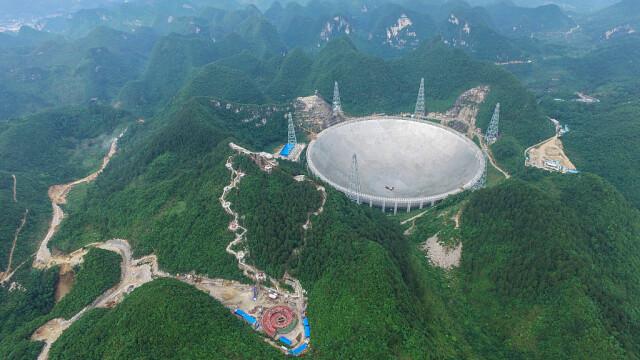 Cel mai mare telescop radio construit vreodată va începe să cerceteze Universul. GALERIE FOTO inedită - Imaginea 3