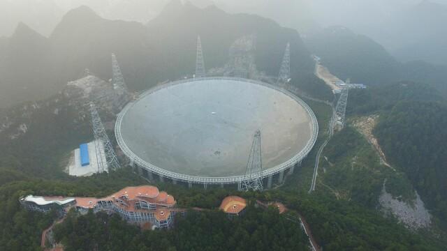 Cel mai mare telescop radio construit vreodată va începe să cerceteze Universul. GALERIE FOTO inedită - Imaginea 5
