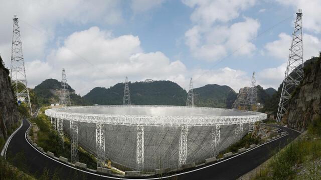 Cel mai mare telescop radio construit vreodată va începe să cerceteze Universul. GALERIE FOTO inedită - Imaginea 6