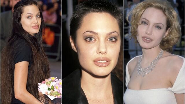 Angelina Jolie, la 45 de ani. Cele mai spectaculoase transformări ale actriței de-a lungul timpului. GALERIE FOTO - Imaginea 1