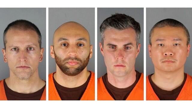 Cauţiuni de până la 1 mil. $ pentru 3 foşti poliţişti acuzaţi de complicitate la uciderea lui George Floyd - Imaginea 3