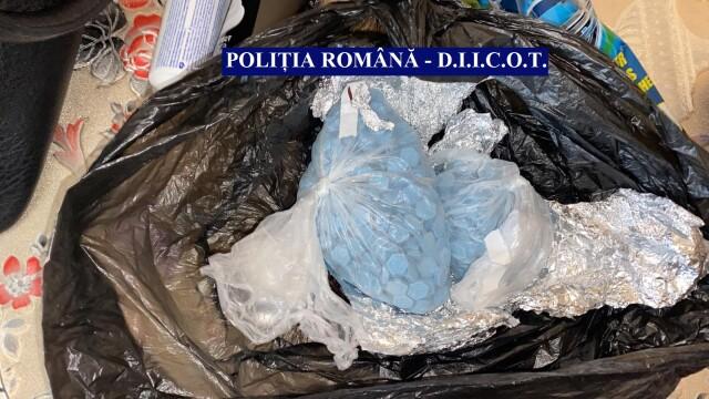 Bărbat din Călărași, prins de DIICOT cu droguri de mare risc și peste 10.000 de euro - Imaginea 1