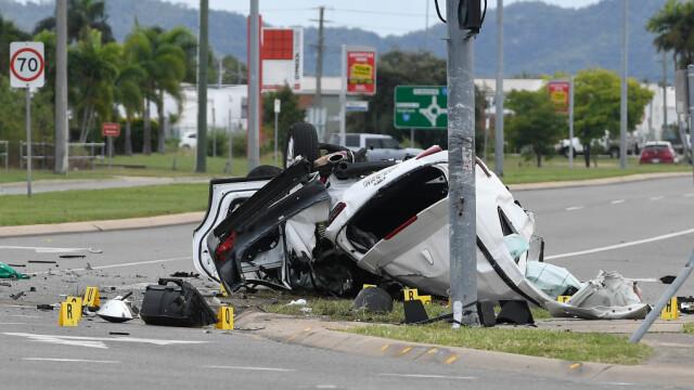 Accident tulburător. Patru minori au murit într-un grav accident de circulație. Cel care conducea avea 14 ani. GALERIE FOTO - Imaginea 4
