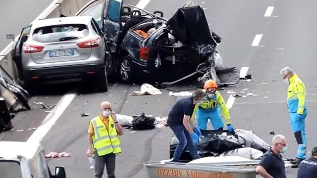 Decizie surprinzătoare în cazul românului care și-a pierdut copiii și părinții în accidentul din Italia - Imaginea 1