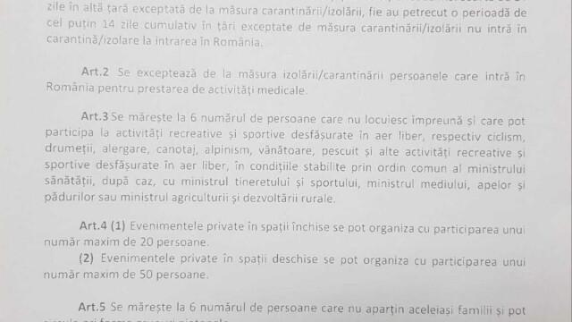 Noile măsuri de relaxare de la 15 iunie. Cine va mai fi obligat să stea în izolare după ce intră în țară - Imaginea 3