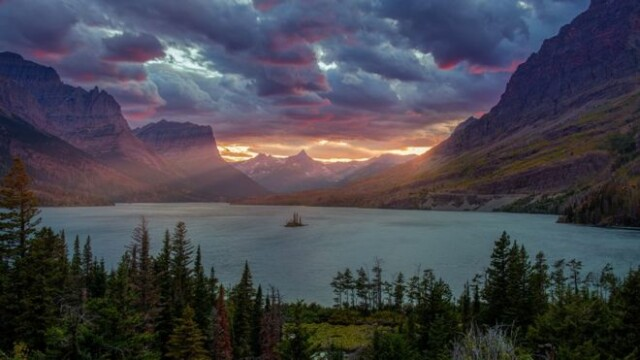 lac St. Mary Montana