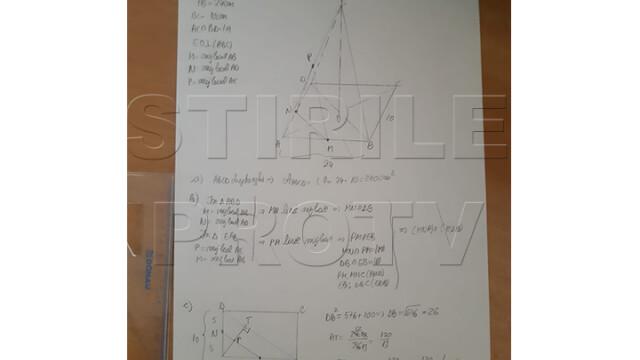 Rezolvarea subiectelor la Matematică, Evaluare Națională. Care este baremul de corectare - Imaginea 4