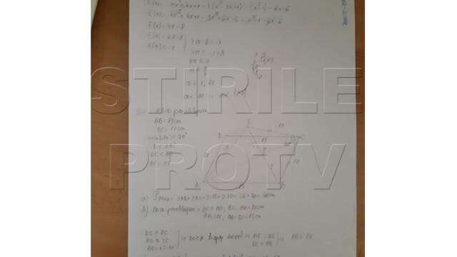 Rezolvarea subiectelor la Matematică, Evaluare Națională. Care este baremul de corectare - Imaginea 5