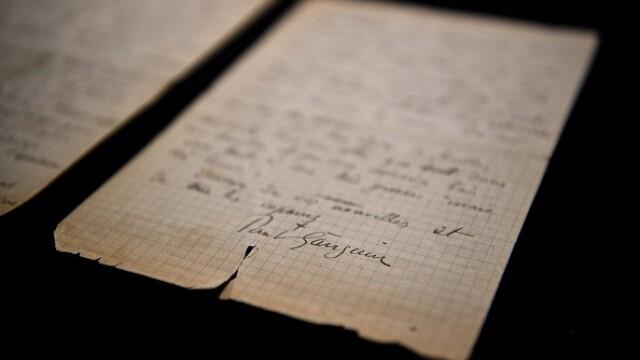 Suma uriașă cu care s-a vândut o scrisoare semnată de pictorii Van Gogh și Gauguin. GALERIE FOTO - Imaginea 8