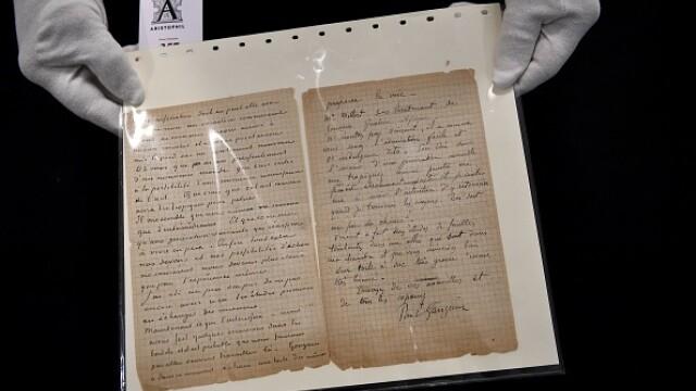 Suma uriașă cu care s-a vândut o scrisoare semnată de pictorii Van Gogh și Gauguin. GALERIE FOTO - Imaginea 5