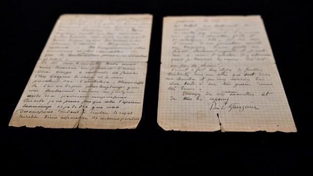 Suma uriașă cu care s-a vândut o scrisoare semnată de pictorii Van Gogh și Gauguin. GALERIE FOTO - Imaginea 4