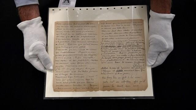 Suma uriașă cu care s-a vândut o scrisoare semnată de pictorii Van Gogh și Gauguin. GALERIE FOTO - Imaginea 3