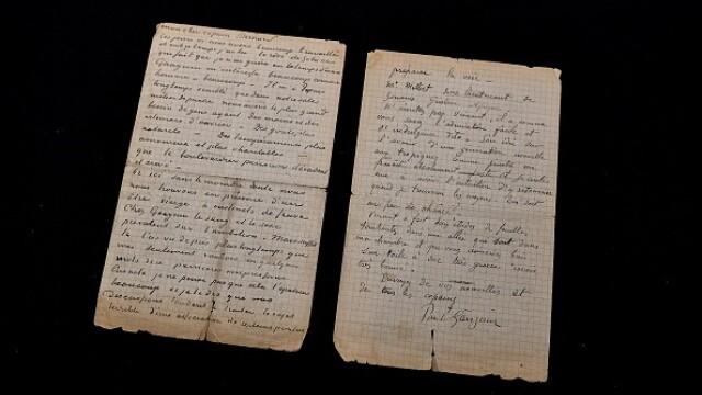 Suma uriașă cu care s-a vândut o scrisoare semnată de pictorii Van Gogh și Gauguin. GALERIE FOTO - Imaginea 2