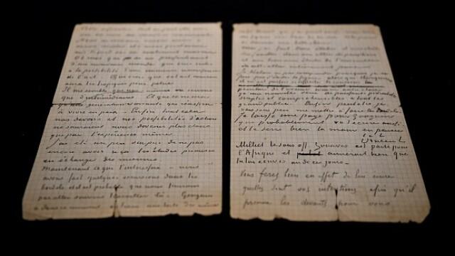 Suma uriașă cu care s-a vândut o scrisoare semnată de pictorii Van Gogh și Gauguin. GALERIE FOTO - Imaginea 1