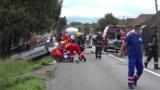 "Accident devastator în Mureș. ""Și acuma tremur"""