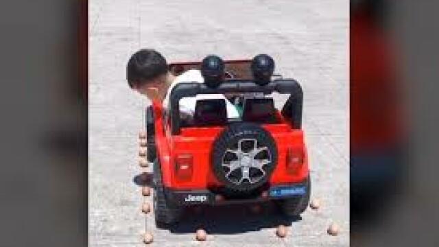 VIDEO. Ai probleme cu parcarea?! Un copil de patru ani îți poate da lecții