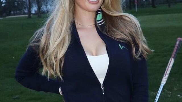 Bella Angel, noua senzație din golf. Imaginile provocatoare cu care și-a cucerit fanii - Imaginea 3