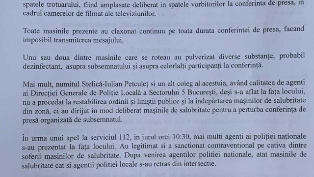 """Cearta dintre Nicușor Dan și Firea a ajuns la Parchet: """"Delapidare și abuz în serviciu"""" - Imaginea 3"""