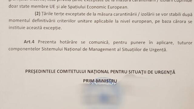 Sunt reluate zborurile între România și mai multe țări, printre care Italia și Franța. Românii nu vor mai fi carantinați - Imaginea 3