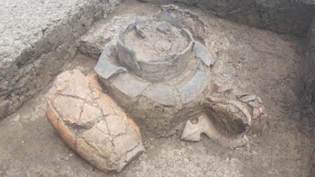 Descoperire arheologică importantă în Timișoara. Rămășițele a sute de oameni arși pe rug, găsite pe un șantier - Imaginea 2