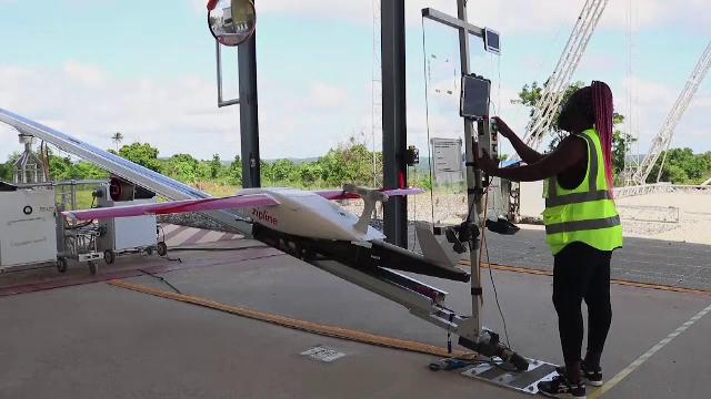 Ghana, una dintre primele țări în care vaccinurile anti-Covid sunt distribuite cu drone