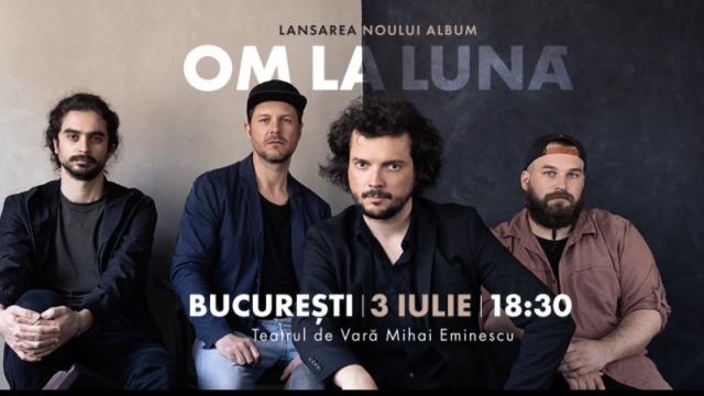 Trupa om la lună își lansează albumul de debut printr-un concert la Teatrul de Vară Eminescu din București - Imaginea 1
