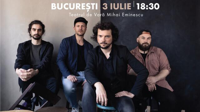 Trupa om la lună își lansează albumul de debut printr-un concert la Teatrul de Vară Eminescu din București - Imaginea 3