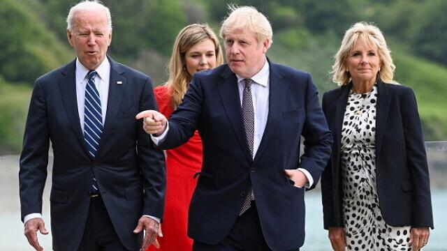 Prima întâlnire dintre Boris Johnson și Joe Biden. Au fost abordate 25 de subiecte