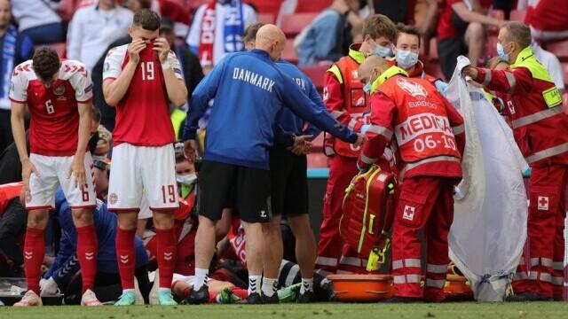 Medicul naţionalei Danemarcei, despre Eriksen: Când am ajuns la el respira şi avea puls, apoi situaţia s-a schimbat