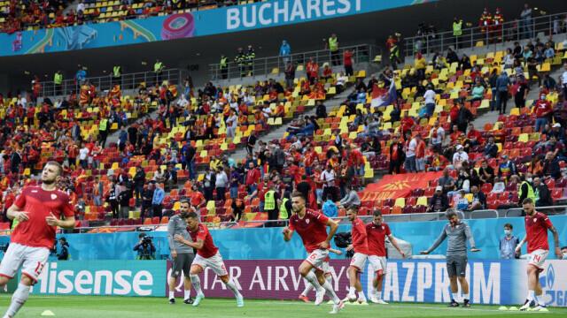 Austria - Macedonia de Nord, 3-1 pe Arena Națională. Spectacol în primul meci găzduit de România la un turneu final - Imaginea 4