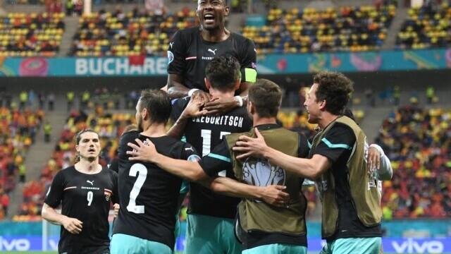 Austria - Macedonia de Nord, 3-1 pe Arena Națională. Spectacol în primul meci găzduit de România la un turneu final - Imaginea 6