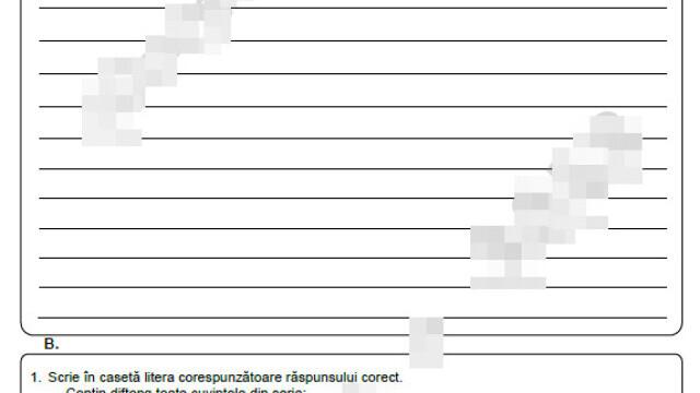 Subiecte Evaluare Națională 2021. Elevii au susținut prima probă scrisă, la Limba Română - Imaginea 4