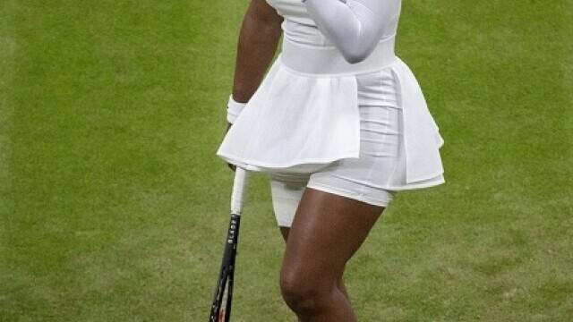 """Serena Williams a plecat de la Wimbledon în lacrimi: """"Am avut inima frântă"""" - Imaginea 3"""