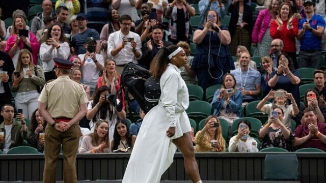 """Serena Williams a plecat de la Wimbledon în lacrimi: """"Am avut inima frântă"""" - Imaginea 5"""