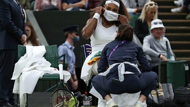 """Serena Williams a plecat de la Wimbledon în lacrimi: """"Am avut inima frântă"""" - Imaginea 9"""