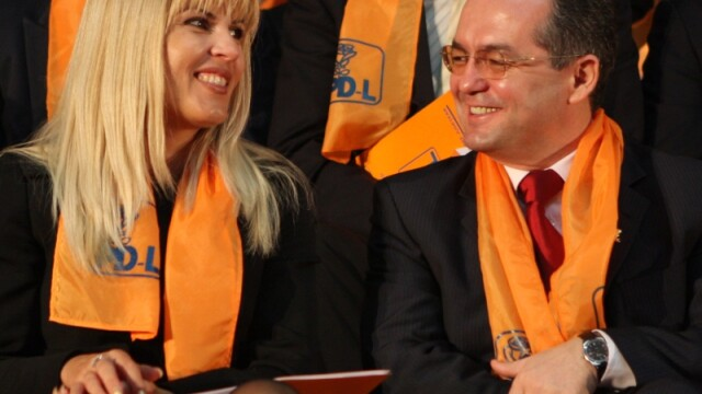Elena Udrea si Emil Boc