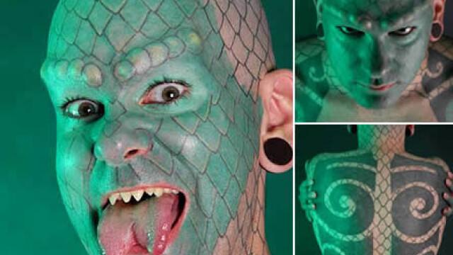 Barbatul cu tentacule si femeia tigru. Top cei mai ciudati oameni din lume - Imaginea 5