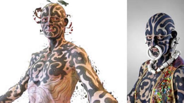 Barbatul cu tentacule si femeia tigru. Top cei mai ciudati oameni din lume - Imaginea 6
