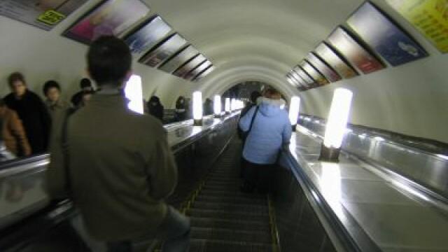 Metroul din Moscova are spirit olimpic. Cei care pot face 30 de genoflexiuni calatoresc gratuit