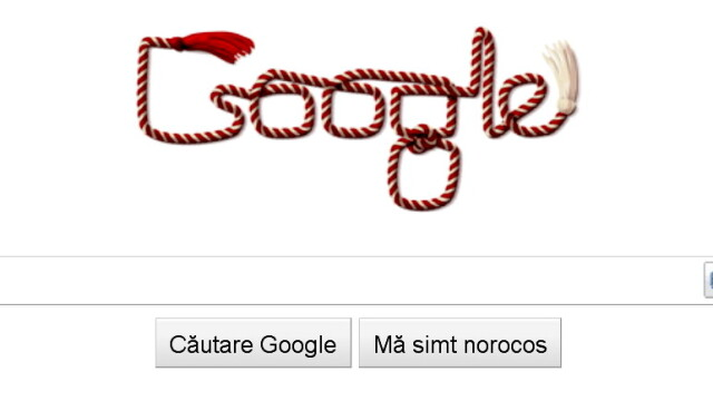 Google si-a pus martisor de 1 martie. Cine deseneaza logo-urile haioase - Imaginea 1