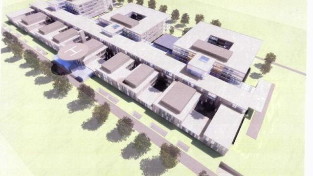 Cum arata spitalele viitorului din Romania? Proiectul AKH-ului bucurestean - Imaginea 1