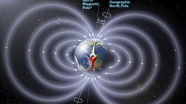 Busolele lumii sunt date peste cap. Polul nord magnetic migreaza spre Rusia