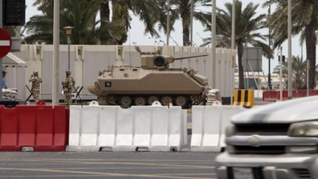 VIDEO socant din Bahrain.Un barbat e impuscat in fata cu gloante de cauciuc - Imaginea 3
